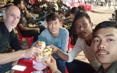 Drinking Beer With The Locals In Siem Reap, Cambodia