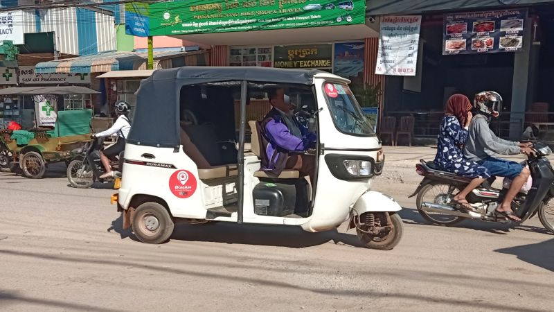 How to Use PassApp Hailing Service in Siem Reap?